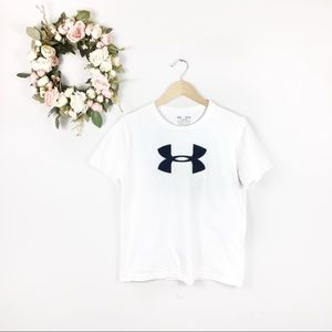 🍍5/$25 UA Boys Big Logo T-shirt